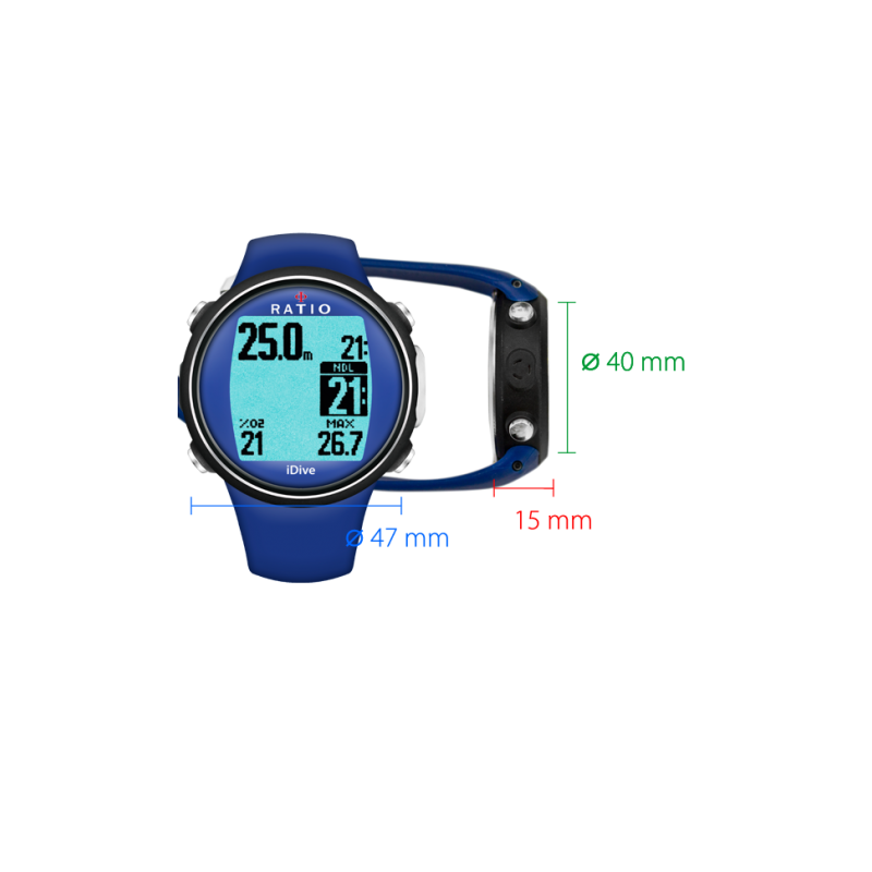 iDive Sport Easy   Watch Dive Computer